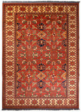 Hallway Afghan Hand-Knotted Rugs