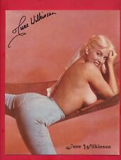 June Wilkinson Signed Authentic Autographed 8x10 Photo + 3x5 + Proof! GIFT