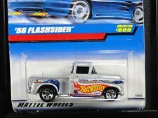 '56 FLASHSIDER, Hot Wheels #899, Silver, 5SP wheel variation, NEW!