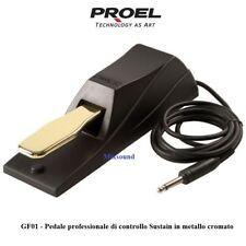 PROEL GF01 PEDALE PREOFESSIONALE DAMPER SUSTAIN PER TASTIERA e PIANO elettrico