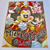 Mickey Mouse Mania Jigsaw Puzzle Leader of the Club 550 Pc Ceaco Disney COMPLETE