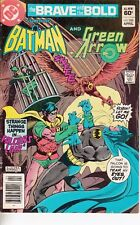 BRAVE AND THE BOLD  #185 1982 DC -BATMAN/ GREEN ARROW -FALCON'S LAIR   BUCKLER/