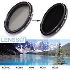 62mm Fader ND Vario Graufilter ND-Filter NDX - ND2 ND400 Blenden verstellbar