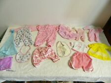 Lot of Modern Doll Clothes and Accessories - Assorted Sizes and Brands