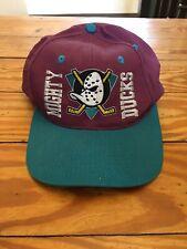 Vintage NHL Anaheim Mighty Ducks  Snapback Hat Cap 90s?