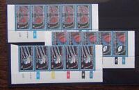 Bophuthatswana 1978 World Hypertension set in control strips of 5 MNH