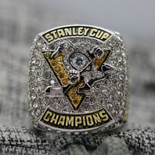 Year 2017 Pittsburgh Penguins Stanley Cup Championship Copper Ring 8-14Size