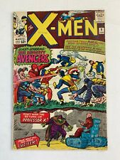 X-Men #9 1st meeting of X-Men & Avengers!1st app.Lucifer!KEY ISSUE!L@@K!