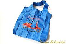 VESPA Tragetasche - Blau - V50 PK PX GL Rally Tasche Beutel Shopper Jutebeutel