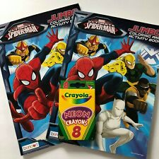 Ultimate Spiderman Coloring Books