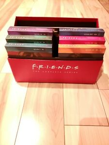 Friends The Complete Series Special Edition  Box Set + Book (DVD, 2013) Tested!