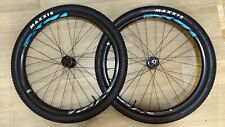 29er Boost Wheelset Giant with Maxxis Ikon tubeless installed tyres