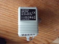 18 Volt, 0.8A 14.4VA Rete Adattatore Caricabatteria 230V 50hz Trapano senza fili ecc.