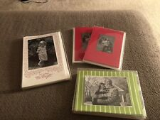 Christmas Photo Cards - NEW (Lot of 4)