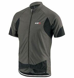 Louis Garneau Metz Lite Jersey - Short Sleeve - Men's Gray/Black, S