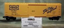 32060 Micro Trains N Scale 50' Plug Door Boxcar Frisco 12052 Black Label