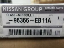 Nissan Genuine Wing Door Mirror Glass Left N/S Passenger Side Heated 96366EB11A