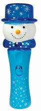 Light Up Flashing Christmas Spinner Party Stocking Filler ~ Snowman