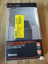 New BlackWeb Wireless Mouse 2.4 ghz USB Bluetooth 75 ft Range Laser Pointer