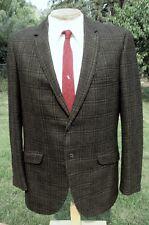 New listing Vintage 1960s Green Plaid Sport Coat Blazer 42R - Handsome Woolen Suit Jacket