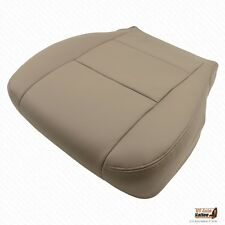 Driver Bottom Replacement Leatherette Cover Tan Fits 2001 2002 Toyota Sequoia