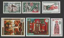 Andorra (French) 1974, 1975, 1976 Europa Sets MNH. Cat approx £100 as singles.