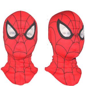 Adulte / Enfants Super Héros Spiderman Masque Cosplay Costume Déguisement Cadeau