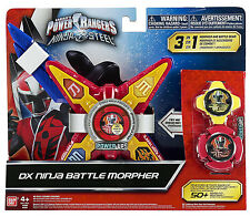 Power Rangers Ninja Steel DX Ninja Battle Morpher  *BRAND NEW*