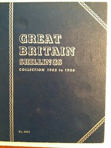 GREAT BRITAIN SHILLINGS COLLECTION 1902 TO 1936