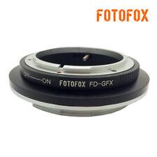 For Canon FD Mount Lens to Fujifilm GFX 50S  Medium Format Camera FD-GFX Adapter