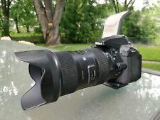 Nikon dslr camera with  Sigma ART lens