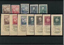 CZECHOSLOVAKIA 1948 Stamps on Stockcard -ATZ