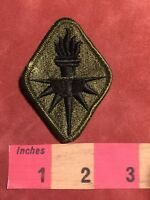 Military US ARMY MILITARY INTELLIGENCE SCHOOL Patch Of Torch Subdued  87NG