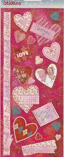 HobbyFun Stickers 3451-303 Auto-collants Coeur Amour Love