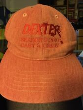 DEXTER TV Series Season 5 2010 Cast & Crew Ball Cap Hat NEW MINT Embroidered