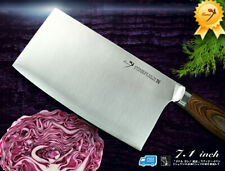 Handcraft Japanese VG-10 Steel Chef's-Cleaver 7.1 inch Vegetable-Chopping Knife
