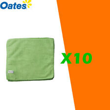 OATES MICROFIBRE CLOTH GREEN X 10