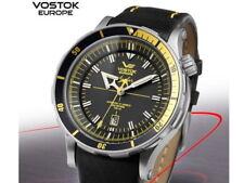 Vostok Europe Anchar Automático 48mm negro/amarillo 5105143 Movimiento Miyota
