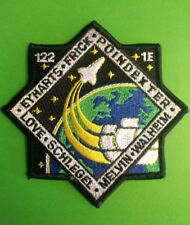 """NASA STS-122 1E 2008 Atlantis Space Shuttle Mission 4"""" Patch *New*"""