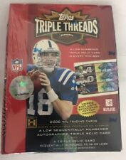 2006 Topps Triple Threads Factory Sealed Football Hobby Box