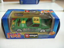Bburago burago Chevrolet Corvette in Green on 1:43 in Box