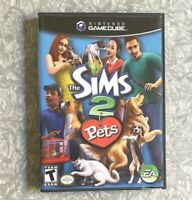 The Sims 2 PETS Nintendo Gamecube *Missing Manual* TESTED EA Dog Cat Game