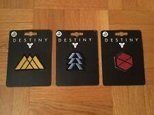 Bungie Destiny Iron On 3 Class Patch Set (Hunter,Warlock,Titan)