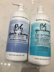 Bumble And Bumble Quenching Shampoo & Conditioner 33.8oz LITER DUO SET