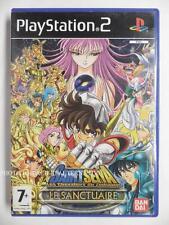 jeu SAINT SEIYA LES CHEVALIERS DU ZODIAQUE le sanctuaire sur playstation 2 PS2