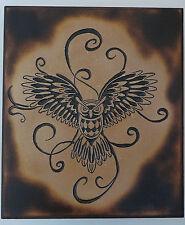 Owl Carving - Owl Wall Decor - Owl Decor - Owls - Owl Plaque - Handmade Plaque