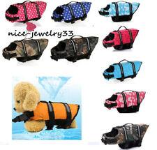 Pet Swimming Safety Vest Dog Life Jacket Reflective Stripe Life Preserver Puppy