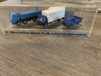 "NEU! RARITÄT Herpa ""6. Mercedes Benz Aufbauherstellerabend"" IAA 1987 LKW HO 1:87"