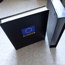 EUROPA COLLECTION DE TIMBRE EUROPA 1949 à 1992 NEUF ** MNH ALBUM + BOITIER DAVO