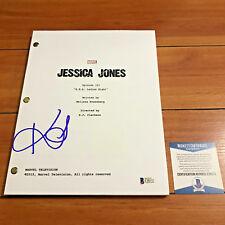 KRYSTEN RITTER SIGNED JESSICA JONES FULL 55 PAGE PILOT SCRIPT w/ BECKETT BAS COA